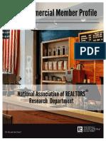 The 2015 NATIONAL ASSOCIATION OF REALTORS® Commercial Member Profile