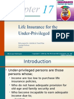 Chapter 17 [Life Insurance for the Under-Previlaged].pptx