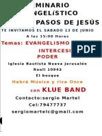 seminario evangelistico