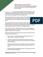 Analytics Data Release June 2015