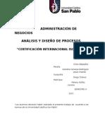 Monografia de Analisis Iso 14000