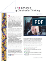 Tools to Enhance Young CHildren's Thinking