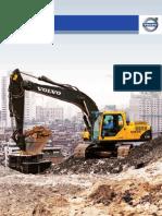 Escavadeira Hidráulica VolvoEC210B
