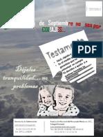 Publicidad Social Testamento RAUL