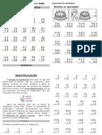 APOSTILA DE MATEMÁTICA 4ª Serie (reforço)