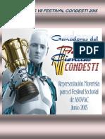 Premiaciones Vii Festival Condesti 2015 Con Fotos
