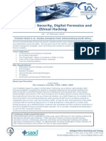 Programme - Information Security, Digital Forensics and Ethical Hacking 23 -27 Feb 2015 - Copy