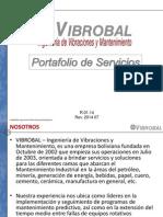 VIBROBAL Portafolio de Servicios