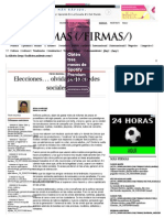 Elecciones… Olvidaron Las Redes Sociales - Grupo Milenio
