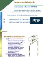 Dimensionamento Ramal e Sub Ramal