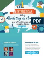 65 Estatísticas Marketing de Conteúdo