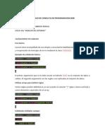 Trabajo de Consulta de Programacion Web