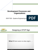 Develoment Process and Organization