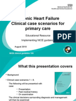 Clinical Case Scenarios for Primary Care in CHF