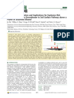 Methane Bioattenuation and Implications for Explosion Risk Reduction Along the Groundwater to Soil Surface Pathway Above a Plume of Dissolved Ethanol