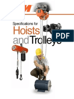 Hoist and Trolley Full Catalog