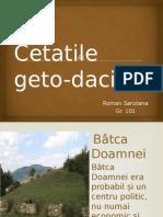 Cetatile Geto Dacilor