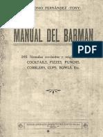 Manuel del Barman 1924 - Antonio Fernández