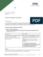 Circular 1302 Enmiendas Reglas de Juego FIFA 2012_2013