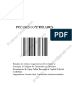 Poderes Controlados - Carlos Antonio Perez