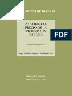 Inmobiliaria Analisis Precio España