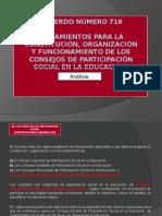 Presentación Acuerdo 716 CEPS
