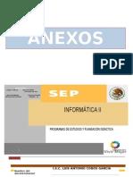 Informática II PLAN CLASE 2015
