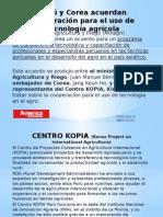 Perú y Corea