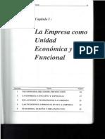 CAPITULO I El Sistema Empresa. Pablo Illanes