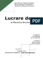Mecanica Structurilor