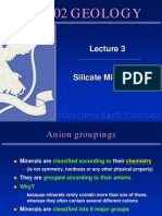 Silicate Mineralogy