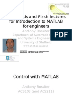 Control With Matlab Part 1