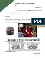 Carta de Invitacion para Campaña de Evangelismo
