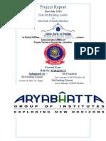 85739105 Harpreet Singh Project Report on NPA