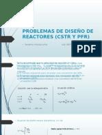 Problemas de Diseño de Reactores (Cstr