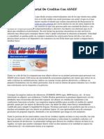 Comentarios Del Portal De Creditos Con ASNEF