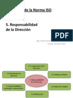 5. Responsabilidad de La Direccion