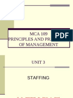 MCA 109 Unit 3 Part i Staffing EVE