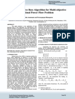 A Multi-Objective Bees Algorithm for Multi-Objective OPF - S. Anantasate and P. Bhasaputra [2011]