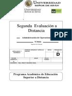 2do Evaluación a Distancia ADO 2014 I_V2