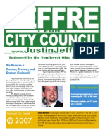 Justin Jeffre for Cincinnati City Council