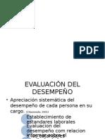 Exposicion Evaluacion Desempeño TH