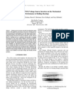 The Effects of PWM Voltage Source Inverters on the Mechanical Bearings