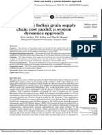 Developing Indian Grain Supply Chain Cost Model a System Dynamics Approach