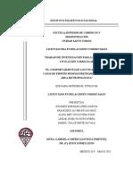 El Comportamiento de Los Usuarios de Las Casas de Empeño Propias PRENDAMEX en El D.F. y Área Metropolitana (1)