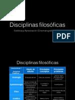 Disciplinas filosóficas