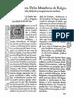 29 Leyes de Indias-De Los Monasterios..