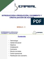 Módulo 5 - Cocimiento, Cristalización
