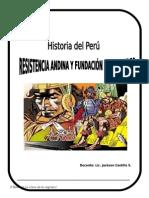 2º Resistencia Andina y Fundación de Ciudades