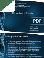Gerontology in Croatia